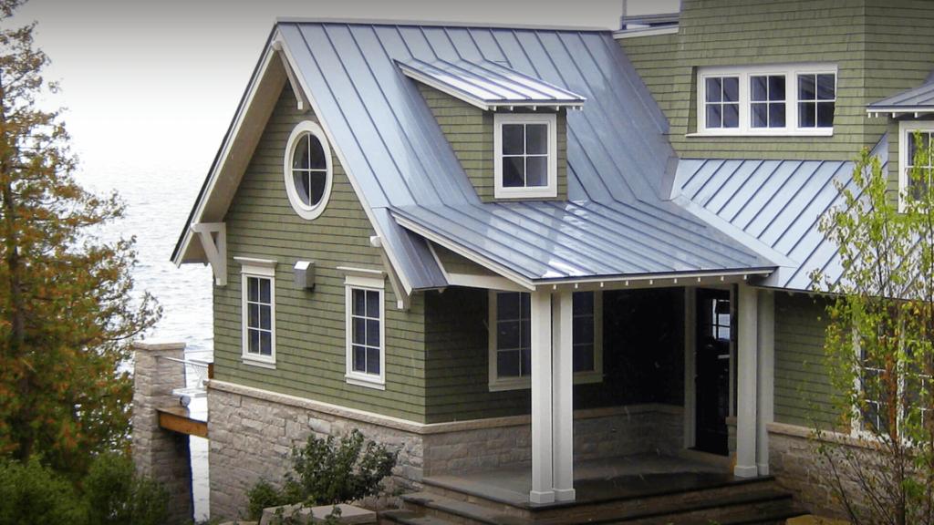 jrcousa blog green metal roof